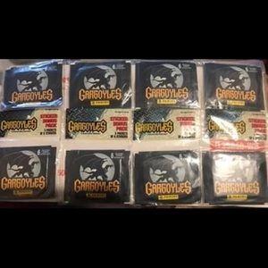 Vtg Disney's Gargoyles Sticker Packs